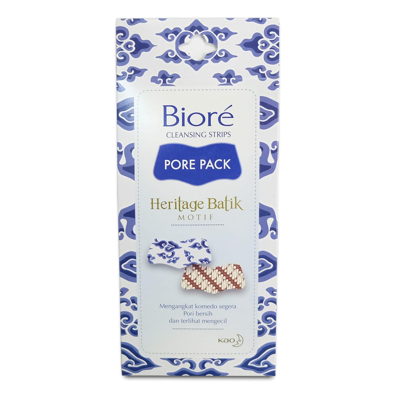 BIORÉ Cleansing Strips Pore Pack Heritage Batik Motif